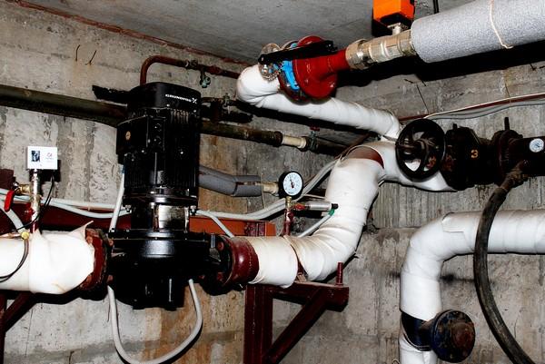 Реконструкция системы отопления.